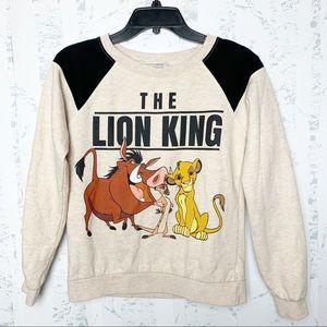 The Lion King Disney Crewneck Sweatshirt